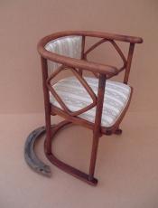 Реставрация старинного венского кресла