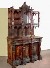 Реставрация антикварного буфета начала 19 века