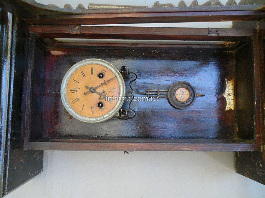 Настенные часы старинные своими руками 36