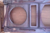Реставрация антикварных дубовых часов