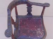 Реставрация антикварного кресла