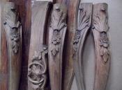 Реставрация антикварного орехового стола