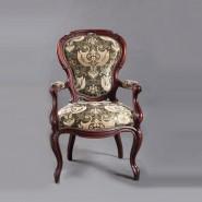 Реставрация антикварного кресла 19 века