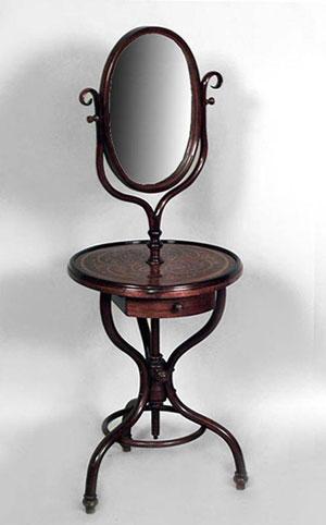 """столик с зеркалом """"Тонет"""" 19 век"""