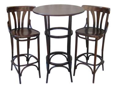 """барные стулья и столик """"Тонет"""""""
