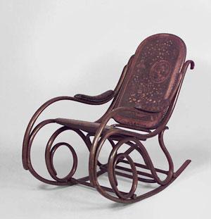"""кресло-качалка """"Тонет"""" конец 19 века"""