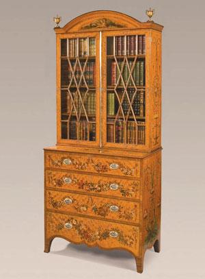 книжный шкаф конца 18 века