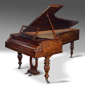 реставрация старинного пианино