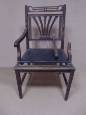 Реставрация антикварного кресла конца 19 века