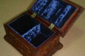Реставрация старинной резной шкатулки