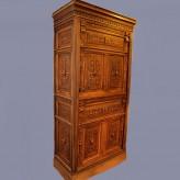 Реставрация антикварного шкафа