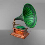 Реставрация антикварного граммофона