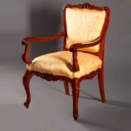 Реставрация кресла начала 20 века