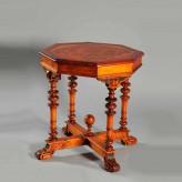 Реставрация антикварного стола