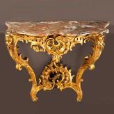 Реставрация стола-консоли