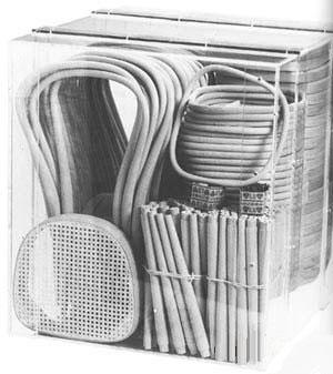 демонстрационный ящик с 36 стульями Тонет № 14