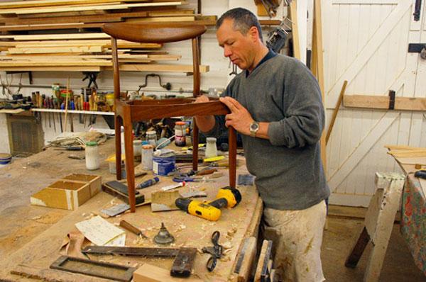 реставрация старинной мягкой мебели