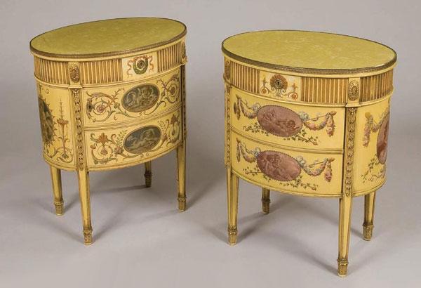 антикварные тумбочки (Англия. 1820-1830 года)