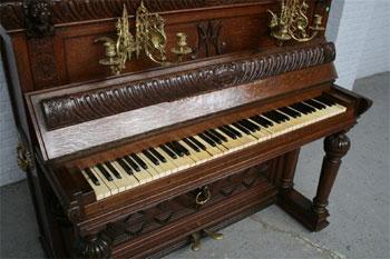 реставрация старинного пианино 19 века